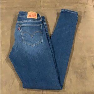 Levi's Jeans - Women's Levi's 710 Jeans Super Skinny Stretch 30